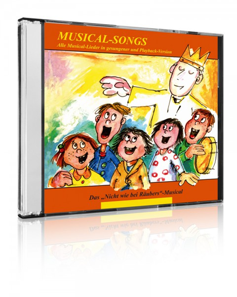 Musical-Lern-CDs (Diverse Interpreten) 10er-Set